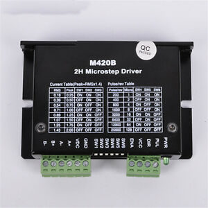 Microstep 2ph Driver Adapter Controller Dc40v For Nema20 28 42 Stepper Motor Cnc