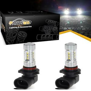 2pcs 15 2323 Smd White 6000k Led Daytime Running Light Drl Bulbs 9005 Hb3