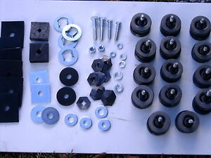 1957 1958 57 58 Ford Car Body Mount Kit Fairlane New