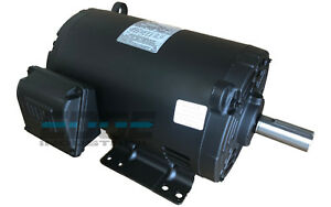 New 5 Hp 184t 3 Phase Weg Electric Motor Air Compressor 1760 Rpm 208 230 460
