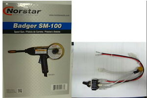 Norstar Sm 100 Badger Spoolgun Switch Fits Millermatic 135 175 Mig Welders