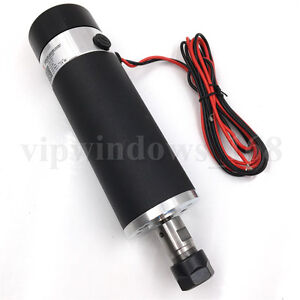 600w Air cooled Spindle Motor Er16 Dc 110v Brushed 13000rpm Cnc Router Milling