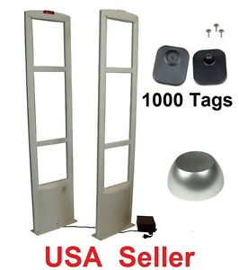 Eas Store Security System Checkpoint Door 1000 Tag Label Antitheft Ship 110v