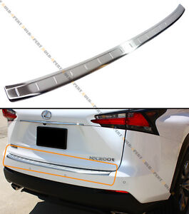 For 2015 2019 Lexus Nx200t Nx300 Vip Stainless Steel Rear Bumper Protector Guard