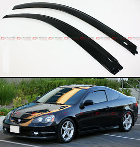 For 02 06 Acura Rsx 2 Door Coupe Dc5 Type S Jdm Style Window Visors Rain Guard