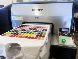 Embroidery Machine And Garment Printer Turn Key Business