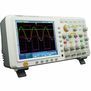 Owon Tds7104 100mhz 1gs s 7 6mpts 4 Channel Digital Serial Oscilloscope