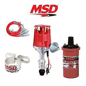 Msd 9912 Ignition Complete Kit Ready To Run Distributor wires coil Oldsmobile