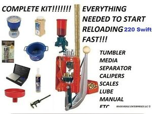 Lee Loadmaster Progressive Press 220 Swift  - COMPLETE KIT FOR RELOADING $535.00