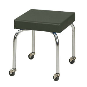Physical Therapy Therapist Scooter Stool Gunmetal