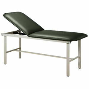 Treatment Exam Table Steel Frame Adj Backrest 30 Gunmetal