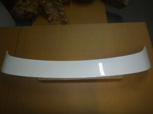 2006 Mazda 3 4 Door Sedan Sport Wing Spoiler Whitewater Pearl 25d