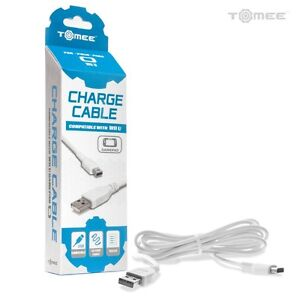 USB DATA SYNC CHARGER CHARGING CABLE LEAD FOR NINTENDO WII U GAMEPAD CONTROLLER $5.99