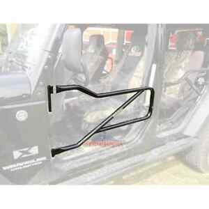 Steinjager Front Tube Door Kit For Jeep Wrangler Jk 2007 18 16 Color Varieties