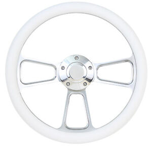 Forever Sharp Steering Wheel Kit White 1960 1973 Vw Bug Beetle Kharmann Ghia