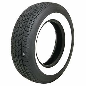 Coker Classic 2 50 Whitewall Radial 215 75 15 Tire 587050 Each