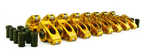 Comp Cams 19001 16 1 5 3 8 Aluminum Roller Rocker Arms Set For Chevrolet Sbc