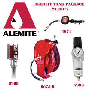 Alemite Bulk Oil Tank Package 343077