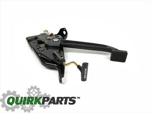 87 95 Jeep Wrangler Yj Parking Emergency Brake Pedal Essembly Oem New Mopar