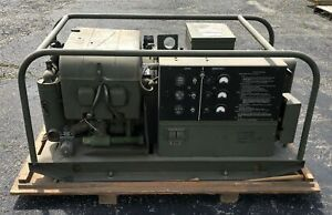 Kurtz Military Generator Set Gasoline Engine Nsn 6115 00 889 1447