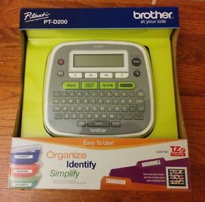 Brand New Brother P touch Pt d200 Label Thermal Printer Ptd200