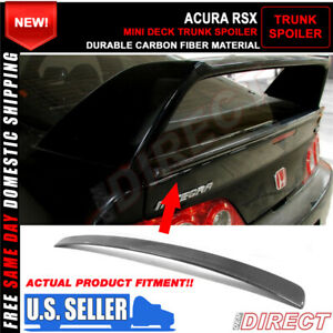 02 06 Acura Rsx Dc5 Aspec Mini Decklid For Tr Style Trunk Spoiler Carbon