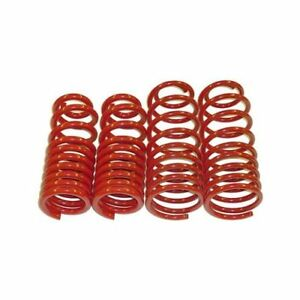 Bmr Lowering Springs 1 25 Coil Front Rear Red Camaro Firebird Set Of 4
