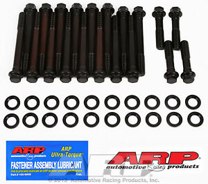 Arp 190 3605 Cylinder Head Bolts Pontiac 400 455 Engines W Edelbrock Heads