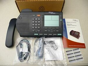 M3905 Nortel Meridian Call Center Phone Charcoal Black Digital Telephone System
