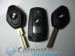 Bmw 3 Button Key Smart Key Fob Programming