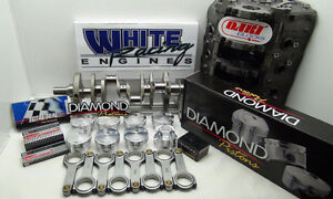 Bbc 582 Chev Cid Dart Short Block 4340 Kit Standard 9 800 Deck Unassembled