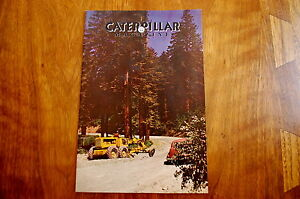 Caterpillar Magazine Issue 75 Dozer Crawler Tractor Vintage Antique Rare Edition