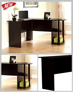 Executive Mordern Office Desk L shaped Corner Computer Table Working Furniture