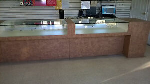 Glass Display Showcase For Retail Stores