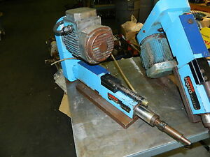 Suhner Monomaster Automatic Drill Unit W 1 Hp Abb Ac Drive Motor Used