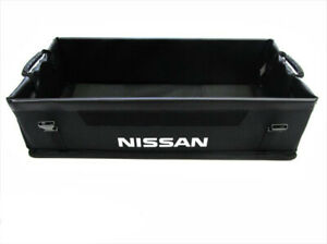 2016 2018 Nissan Maxima Black Rear Trunk Cargo Organizer Genuine Oem Brand New