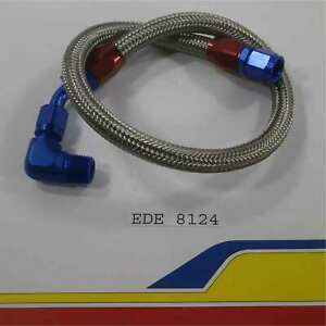 Edelbrock 8124 Fuel Line Kit Fuel Pump To Carb Inlet Hose 3 8 Outlet