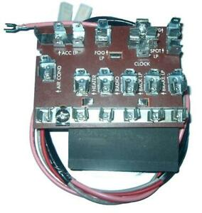 55 56 57 Chevy Electrical Fuse Box 1955 1956 1957 Chevrolet New