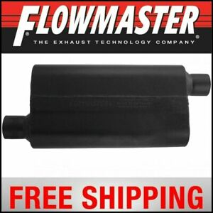 Flowmaster 50 Series Delta Flow Muffler 2 5 Offset In 2 5 Offset Out