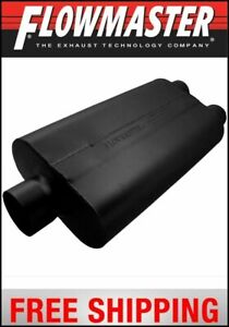 Flowmaster 50 Series Delta Flow Muffler 3 Center In 2 5 Dual Out