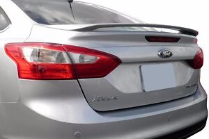 Painted Factory Style Spoiler Fits The 2012 2013 2014 Ford Focus
