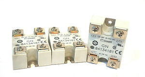 Used 3 Crouzet 84134181 Solid State Relay