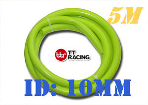 10mm 3 8 Silicone Vacuum Tube Hose Silicon Tubing Lime 5 Meters 5m 15 5ft