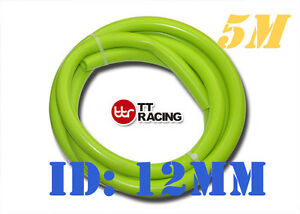 12mm 1 2 Silicone Vacuum Tube Hose Silicon Tubing 5m 5 Meters 15 5ft Lime