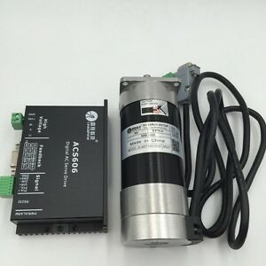 180w 0 57nm Servo Motor Dc Brushless 3000rpm Driver Encoder Cable Cnc Router