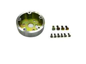 1 Billet Riser hub For 5 hole Steering Wheel And 3 bolt Adapter Grant Apc