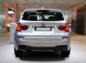Stainless Steel Exhaust Muffler Tail Pipe Tip For Bmw F25 X3 Xdrive28i 28 I Ss