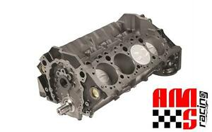 Ams Racing Forged 383 Ci Chevrolet Sbc 4 Bolt Main Stroker Short Block