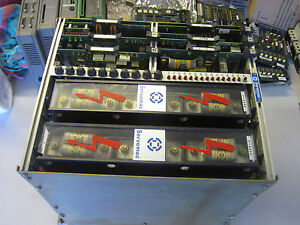 100 Warranty Servomac 12a55 Drive 2 Dual P 3a55 A55 Power Unit 6 Cards