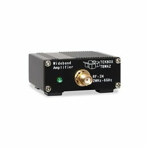 20db Wideband Amplifier Tekbox Digital Solutions